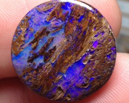 17cts Koroit Boulder Opal Picture Stone AC339
