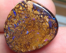 24.5cts Koroit Boulder Opal Picture Stone AC351