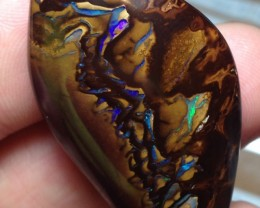 73.5cts Koroit Boulder Opal Picture Stone AC393