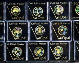 15 Opal  Golf markkers for re sellers   Bu 2482