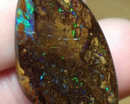 46.5cts Koroit Boulder Opal Picture Stone AC447