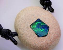 inlay bright Opal Pendant  BU 2508
