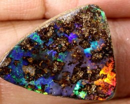10.20 CTS QUALITY  BOULDER OPAL POLISHED STONE INV-339  GC