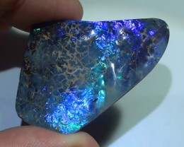 70.0 ct Huge Boulder Opal With Beautiful Electric Blue