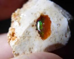 71 Ctw Natural Opal Rough Specimen Mexican Fire Opal