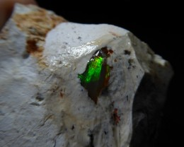 175.5 Ctw Natural Opal Rough Specimen Mexican Fire Opal
