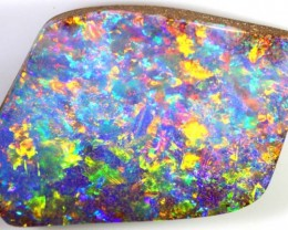 48 CTS QUALITY  BOULDER OPAL POLISHED STONE INV- TD-1  GC