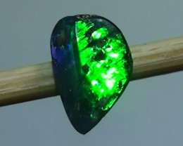 0.50 ct Boulder Opal Natural Blue Green