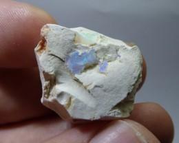 42 Ctw Natural Opal Rough Specimen Mexican Fire Opal
