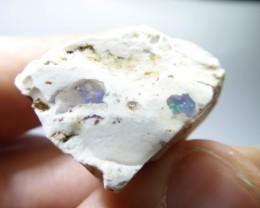 75.5 Ctw Natural Opal Rough Specimen Mexican Fire Opal