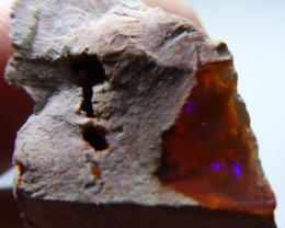 30.5 Ctw Natural Opal Rough Specimen Mexican Fire Opal