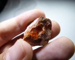 32.5 Ctw Natural Opal Rough Specimen Mexican Fire Opal