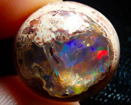 $1 NR Auction 14.5ct Mexican Matrix Cantera Multicoloured Fire Opal