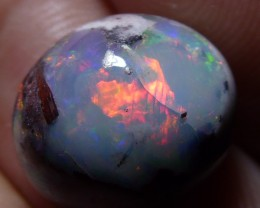 Natural Mexican Matrix Cantera Multicoloured Fire Opal