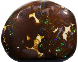97.55 CTS FLASHY  MATRIX BOULDER ROUGH PRE SHAPED [BY4979]
