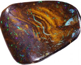60.50 CTS FLASHY  MATRIX BOULDER ROUGH PRE SHAPED [BY4987]