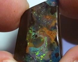 15.80  ct Boulder Opal With Beautiful Multi Color