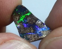 2.95 ct Boulder Opal Natural Gem Blue Green
