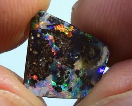 3.50 ct Boulder Opal With Gem Multi Color