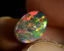 Black Opal - ID:20574 100% Natural Australian Opal Gemstone