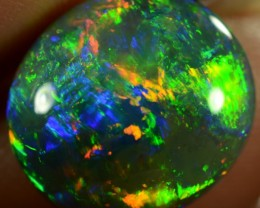 Black Opal 5.24 ct - ID:20577 100% Natural Australian Opal Gemstone