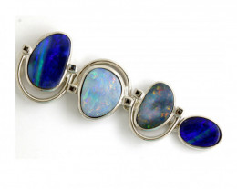 73.75 CTS SILVER DOUBLET OPAL PENDANT OF-1634