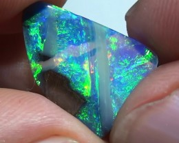 3.0 ct Boulder Opal Top Gem Rainbow Color