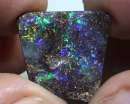 10.30 ct Boulder Opal Gem Rainbow Color