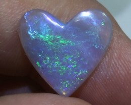 3.0 ct Gem Coober Pedy Heart Opal
