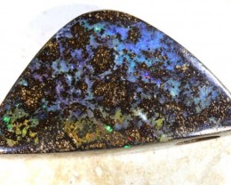 34.5 CTS BOULDER OPAL POLISHED STONE DRILLED ADO-3814