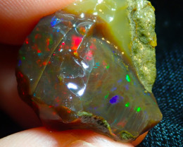 20.19ct Ethiopian Crystal Rough Opal Specimen