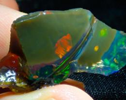 21.73ct Ethiopian Crystal Rough Opal Specimen