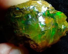 90ct Ethiopian Crystal Rough Opal Specimen