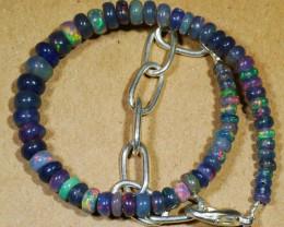 13 CT SMOKED Welo Ethiopian  Bead Bracelet