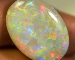 SEMI-BLACK OPAL 16.20ct LIGHTNING RIDGE SOLID GEM SBOPA140816