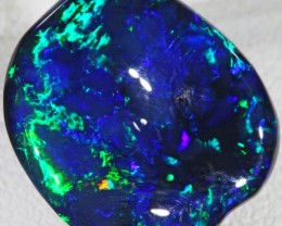5.05 CTS BLACK  OPAL FREE SHAPE - LIGHTNING RIDGE- [SO7342]