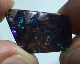 8.50 ct Beautiful Gem Blue Green Natural Queensland Boulder Opal