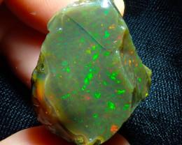 60ct Ethiopian Crystal Rough Opal Specimen
