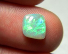 Beautiful crystal opal gem