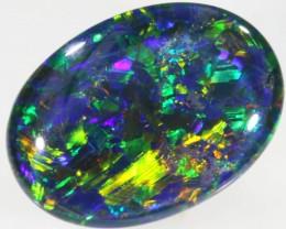 6.9 Cts Top Gem Grade Oval Triplet Opal PPP 426