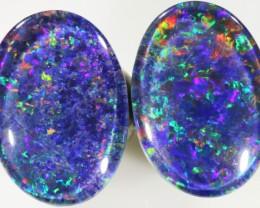 11.90 Cts Top Gem Grade Pair Triplet Opal PPP 452