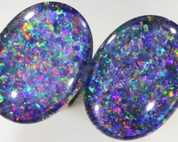 19.40 Cts Top Gem Grade Pair Triplet Opal PPP 453