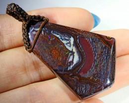 84.6 Cts Boulder Opal Pendant PPP464