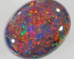 0.80 Cts Black Opal Lightning Ridge PPP485