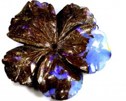 85.9CTS BOULDER OPAL CARVING LO-4014