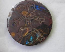 95.1 cts Aboriginal art on boulder Opal ex Bertas Opal collection PPP 489