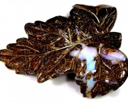 47.49CTS BOULDER OPAL CARVING LO-4020