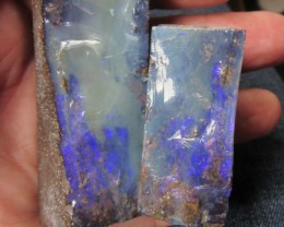 Cts Polished split boulder Opal ex Bertas Opal collection PPP 522