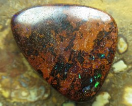 O/L 26cts.WE MINE! BOULDER MATRIX OPAL.