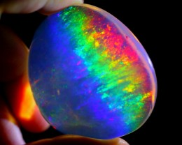 189cts Natural RAINBOW+ ContraLuz Ethiopian Welo Polished Specimen Crystal